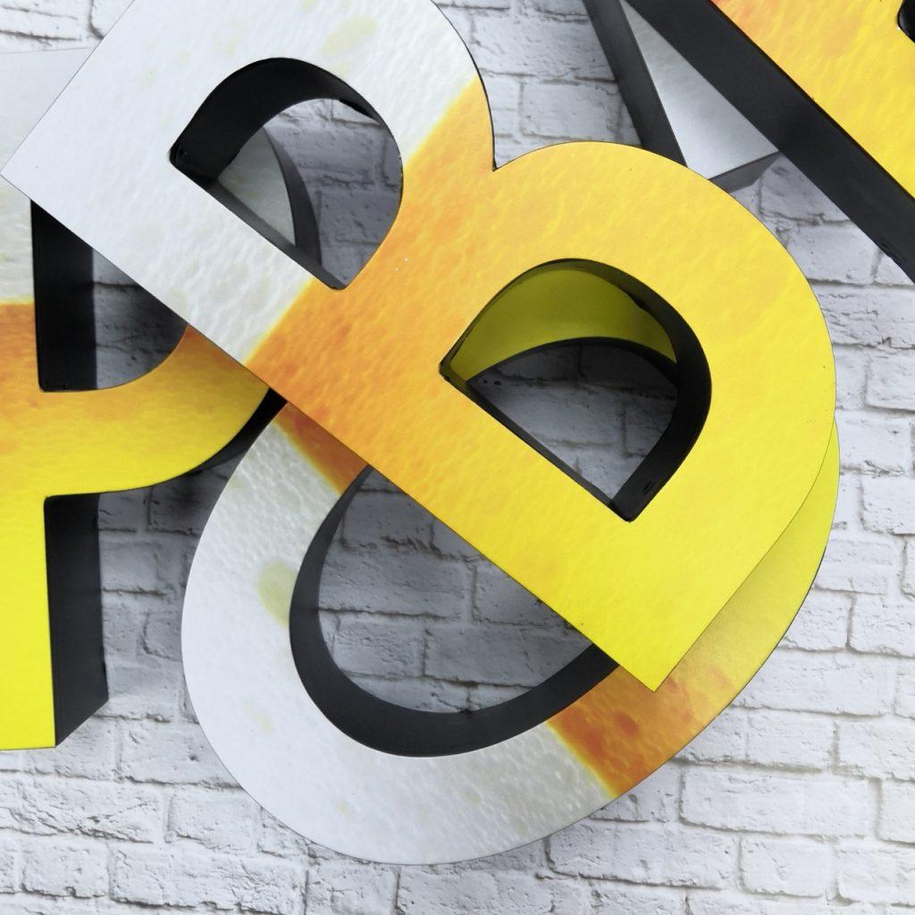 объемные буквы изготовление , резка букв